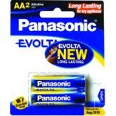 ถ่าน Panasonic Evolta AA แพค 2ก้อน จำนวน 6 แพค