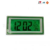 นาฬิกาแสดง เวลา วัน เดือน วันที่ อุณหภูมิ พร้อมไฟระบบสัมผัส - สีเขียว