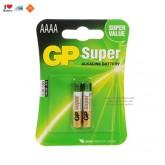 ถ่าน GP AAAA super alkaline 1 แพค