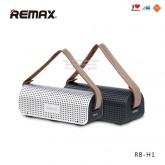 Remax ลำโพง Bluetooth Desktop Speaker Powerbank H1 เสียง stereo 2 channel ไร้สาย พกพาง่าย รับสายได้
