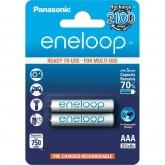ถ่านชาร์จ Panasonic Eneloop AAA (2 ก้อน) ของแท้