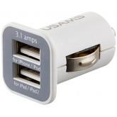 Adaptor USB จุดบุหรี่รถยนต์ Output 3.1A ชาร์จ IPad ได้