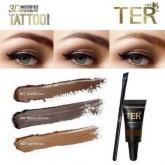 พร้อมส่ง Ter eyebrow tattoo water proof สี Dark brown