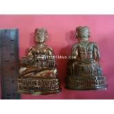 รูปเหมือนพ่อขุนแผนเจ้าทรัพย์ (อุดกริ่ง) Khun paen jao sub (with kring)หลวงปู่ครูบาธรรมมุนี