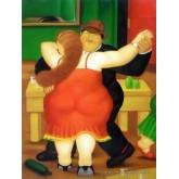 ขายภาพวาดสีน้ำมัน ภาพวาดรีโปรดักชั่น The Couple Dancing
