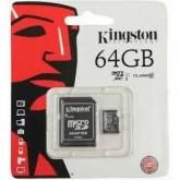 เมมโมรี่ การ์ด Kingston Micro SD 64GB คลาส 10