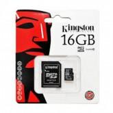 เม็มโมรี่การ์ด Kingston Micro SD Class 10 - 16GB