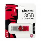 Kingston 8Gb Data Traveler 101 Usb2.0 Flash Drive - (Dt101G2/8Gb)ᅠ