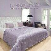 ผ้าห่มนวม Lavender Metallic