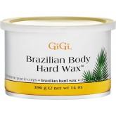GiGi Brazilian Body Hard Wax จีจี้บราซิลเลี่ยน บอดี้ฮาร์ด แว๊กซ์ ไม่ต้องใช้ผ้าลอกแว๊กซ์