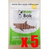 Shark Bone Stick สติ๊กเนื้อปลาฉลามผสมกระดูกปลาป่น x 5 แพค