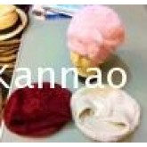 หมวกเบเล่ WOOL ขนกระต่ายลายดอกไม้.หมวกแฟชั่นเกาหลี,หมวกกันหนาว
