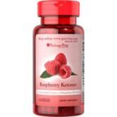 Raspberry Ketones 100 mg.60 Capsules ช่วยเผาผลาญไขมันอย่างได้ผล ควบคุมน้ำหนัก
