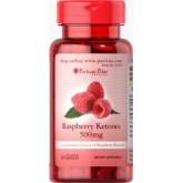 Puritan\'s Pride Raspberry Ketones 500mg. ราสเบอร์รี่คีโตนแบบเพียวๆ ช่วยเผาพลาญไขมัน