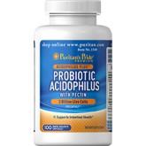 Probiotic Acidophilus with pectin 3 Billion live cells ปรับสมดุลระบบย่อยอาหารและลำไส้ ลดภาวะท้องผูก
