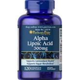Puritan Alpha Lipoic Acid 300 mg 120 Softgels (USA) ALAเร่งขาว ต้านวัย เพิ่มฤทธิ์อาหารเสริม