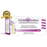 Lypo-Spheric Glutathione (กลูต้าเจล) 1 กล่อง 30 ซอง กลูต้าเจล อาหารเสริมผิวขาวที่ดีที่สุด
