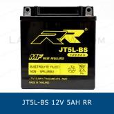 RR JT5L-BS CB5L ( GM5 ) 12V 5Ah แบตเตอรี่แห้ง มอเตอร์ไซต์ motorcycle battery