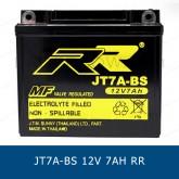 RR JT7A-BS YB7B-B แบตเตอรี่แห้ง มอเตอร์ไซต์ motorcycle battery
