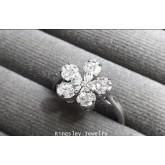 แหวนเพชรดอกไม้ น้ำ 99