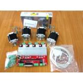 ชุดคิทมินิ CNC 4 Axis TB6560 Drive Board type V+NEMA 23 Motor 76mm
