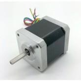 มอเตอร์ Stepper NEMA17 48mm. 1.85A 4 สาย 4.8Kg-cm(78 Oz-in)