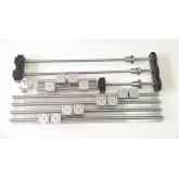 ชุุด BallScrew RM1204 L600mm.with linear guide