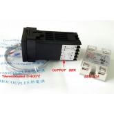 ชุด Set คอนโทรลควบคุมอุณหภูมิ PID REX-C100 +SSR+ K thomo