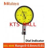 เครื่องวัด Dial Indicator Mitutoyo Range 0-0.8mm.