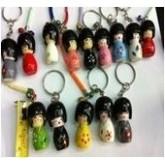 สายห้อยมือถือ-ไม้ตุ๊กตาเด็กญี่ปุ่น