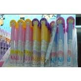 ปากกาเจลปอก-ผู้หญิงญี่ปุ่น3สี 9509-1