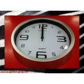 นาฬิกาแขวนติดผนัง-กลม 19.5ซม. ขอบและหน้าปัดหลายแบบ