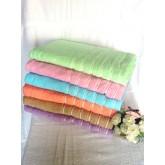 ผ้าขนหนูเช็ดตัว30*60  fine lines sweetมีให้เลือก 6สี  แยกสีได้