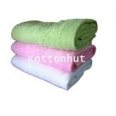 ผ้าขนหนูเช็ดตัวขนาด15x30 นิ้ว 0.3 ปอนด์ กลิ่นหอม