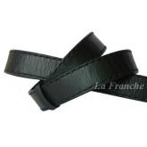 เข็มขัด Handmade เย็บด้ายเทียน สีดำ กว้าง 1.2 นิ้ว code 2a00501