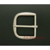 หัวเข็มขัดสีนิกเกิ้ลเงา, ขนาด 1.5 นิ้ว - code 5n01039s