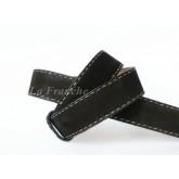 เข็มขัด Handmade หนังกลับสีดำ , กว้าง 1.5 นิ้ว - code 5a00501-suede