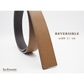 3.1 cm. Reversible Pebble Tan (Code : 31M0204)