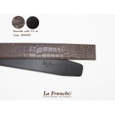 3.9 cm. Reversible Croco Chocolate