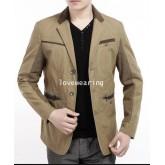JM5704019 เสื้อแจ็กเก็ตชายแฟชั่นเกาหลี รุ่นใหม่ (พรีออเดอร์) รอ 3 อาทิตย์หลังชำระเงิน