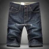 AM570802 กางเกงลำลองชาย ขาสั้น สไตร์เกาหลี (พรีออเดอร์)รอสินค้า 3 อาทิตย์หลังชำระเงิน