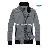 100103-108 เสื้อแจ็กเก็ตชายแฟชั่นเกาหลี สีเทา รุ่นใหม่ (พรีออเดอร์) รอ 3 อาทิตย์หลังโอน