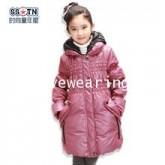 DM5909001 เสื้อโค้ทเด็กผู้หญิงเกาหลี มีฮูด ซิปหน้า ผ้าผสมขนสัตว์ อบอุ่นมาก (พรีออเดอร์)