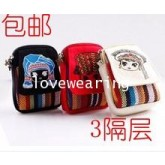 BG5711011 กระเป๋าถุงผ้าใส่ของใช้จุกจิก+โทรศัพท์ สาวเกาหลี (พรีออเดอร์) รอ 3 อาทิตหลังโอนเงิน