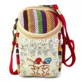 BG5711012 กระเป๋าถุงผ้าใส่ของใช้จุกจิก+โทรศัพท์ สาวเกาหลี (พรีออเดอร์) รอ 3 อาทิตหลังโอนเงิน