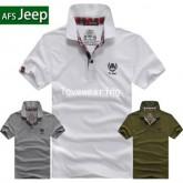 PL570503 เสื้อยืด เสื้อโปโลรุ่นฮิต JEEP แขนสั้น (พรีออเดอร์) รอสินค้า 3 อาทิตย์หลังชำระเงิน