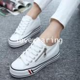 TW5801008 รองเท้าผ้าใบแฟชั่นเกาหลี (พรีออเดอร์) รอ 3 อาทิตย์หลังโอนเงิน