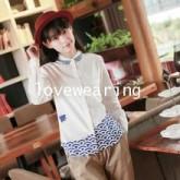 GW5808003 เสื้อเชิ้ตสีขาวผู้หญิง สไตร์ญี่ปุ่น หวานน่ารัก(พรีออเดอร์)รอสินค้า 3อาทิตย์หลังโอนเงิน