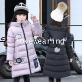 DM5909005 เสื้อโค้ทผู้หญิงเกาหลีตัวยาว มีฮูด ซิปหน้า ผ้าผสมขนสัตว์ อบอุ่นมาก (พรีออเดอร์) ร