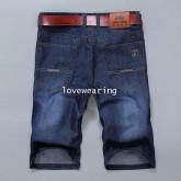 AM5909003 กางเกงลำลองชาย ขาสั้น สไตร์เกาหลี (พรีออเดอร์)รอสินค้า 3 อาทิตย์หลังชำระเงิน